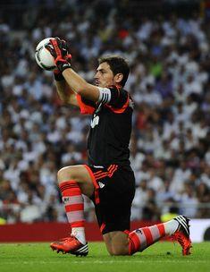 Iker Casillas - Real Madrid v Barcelona - Supercopa