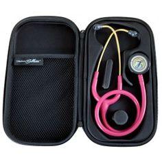 Medisave Ballistics Premium Classic Stethoscope Case - Black