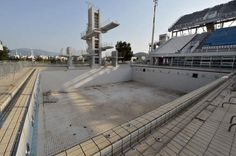 The Olympic Village in Athens, 10 years after the games...