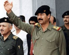 saddam hussein uniform - Google Search