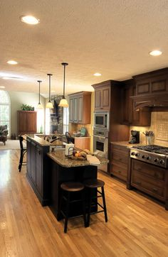 Beautiful kitchen remodel by Atlanta Design Build