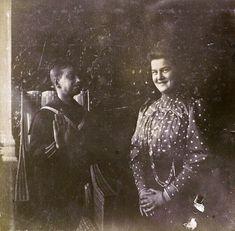 Dmitri Pavlovich and Maria Pavlovna. Photo source: lastromanovs/vk