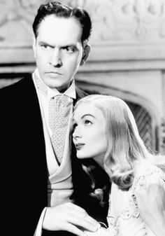 Fredric March and Veronica Lake in I Married a Witch, 1942 hollywoodlady