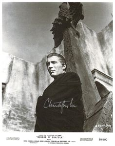 CHRISTOPHER LEE The Horror of Dracula