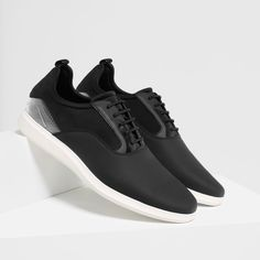 SNEAKERS WITH TRANSPARENT DETAIL-View all | Available in size 5-SHOES-MAN | ZARA United Kingdom