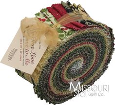 My True Love Gave To Me Jelly Roll from Missouri Star Quilt Co