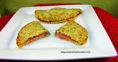 Pepperoni Pizza Pockets-Made with zucchini crusts...Looks yummy.  Gonna have to try this one for sure!!