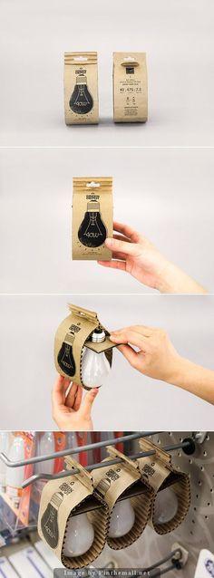 Green Depot #Eco-Friendly #LightBulb (Student Project), Designer: Hyunseo Yoo - http://www.packagingoftheworld.com/2014/10/green-depot-eco-friendly-light-bulb.html: