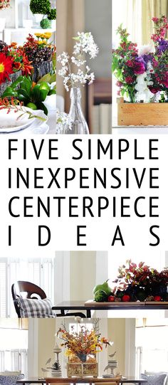 Five Simple Inexpens