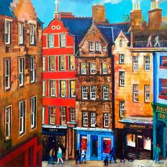 Victoria Street by Rob Hain | Edinburgh Arts