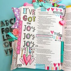 Bible Journaling by @plyswthscissors