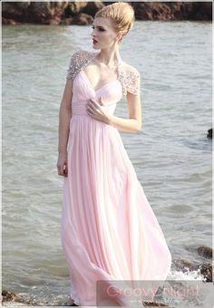 最高級の輝きを貴女に!上品なレース使いがステキなロングドレス♪ - ロングドレス・パーティードレスはGN|演奏会や結婚式に大活躍!