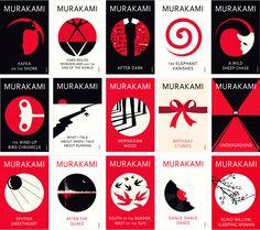 Murakami, ami avec le graphisme en trois couleurs | Booketing : The Book Design Blog