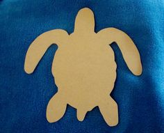 Unfinished Sea Turtle Baby Mdf Wood Mosaic Base/Craft by zzbob, $4.50