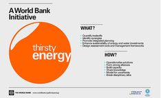 'Thirsty Energy' Initiative from World Bank Signals Growing Importance of Energy-Water Nexus | Energy Manager Today