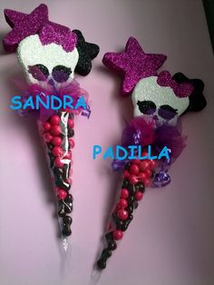 FIESTA MONSTER HIGH ALGUNAS IDEAS