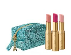 Too Faced Christmas in Paris for Holiday 2015 | Too Faced Le Petit Tresor La Crème Color Drenched Lipstick Set $29