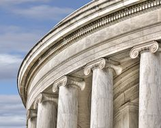 """""""Column Close Up Jefferson Memorial"""" This is a copyright photo. If you wish to purchase this photo or any other of my fine art prints, please visit my website at; www.jerryfornarotto.artistwebsites.com Watermark will be removed from all prints purchased."""
