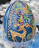 Turkey egg by Katrina Lazarev