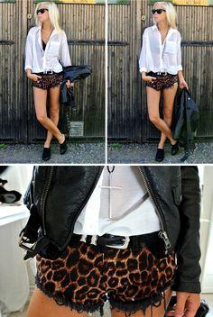 victoriatornegren Leopard Print Shorts, Cheetah, Early 2000s Fashion, Glamour, Grunge Fashion, Fashion Killa, Types Of Fashion Styles, Passion For Fashion, Everyday Fashion