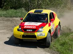 McRae off-road rally raid car