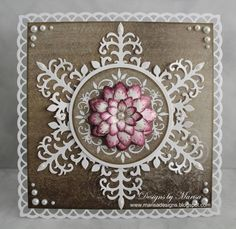 Decorative Stem and Flower Card by marisajob - Cards and Paper Crafts at Splitcoaststampers