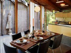 wie sieht das moderne esszimmer aus? - küche mit esszismmer, Innenarchitektur ideen
