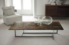 Contemporary marble coffee table - LONDRA by Opera Design - Porada