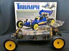 Vintage New Built Kyosho Triumph. Remote Control Cars, Radio Control, Kit Cars, Car Kits, Off Road Rc Cars, Rc Crawler, Arduino Projects, Rc Model, Electric Power