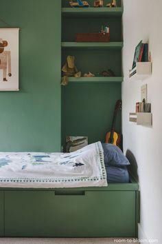 childrens interior design bespoke built-in bed joinery