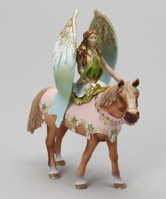 Look at this #zulilyfind! Surah & Horse Figurine Set #zulilyfinds