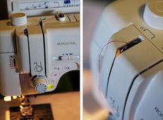 How to thread a sweing machine (step by step)  via: tipJunkie  #sew #tutorials