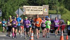 The annual Mayor's Marathon is held during summer solstice activities in Anchorage.