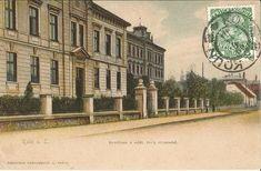 ul.Kutnohorská ,Vzadu Bývalá 4.ZŠ Big Ben, Retro, Building, Travel, Historia, Viajes, Buildings, Destinations, Traveling