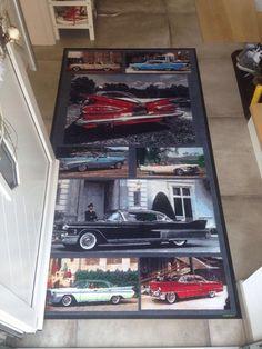 So sieht die Fußmatte von einem Auto-Fan aus. ;) #fußmatte #oldtimerfan Pinball, Autos, Antique Cars, Ideas, Pictures