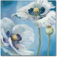 Trademark Fine Art Blue Dance II Canvas Art by Lisa Audit, Size: 18 x 18, Multicolor