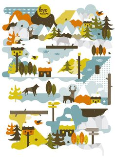 Love Nature on Behance