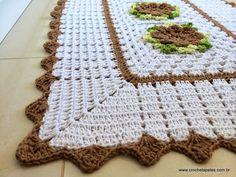 Encomenda pronta – Conjunto de tapetes para banheiro | Croche.com.br