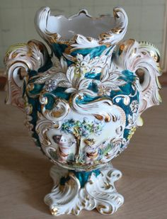 Antiques collectibles capodimonte vase capodimonte capodimonte from napoli altavistaventures Image collections