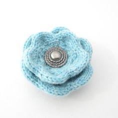 Winter Flowers knitting pattern