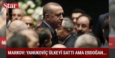 Ukrayna eski milletvekili: 15 Temmuz'da Erdoğan kaçmadı: Ukrayna eski milletvekili İgor Markov, Türkiye Cumhurbaşkanı Recep Tayyip Erdoğan'ın 15 Temmuz darbe girişimi sırasında ülkesinden kaçmadığını belirterek, 'Halk da Erdoğan'ı desteklemek için sokağa çıktı' dedi.