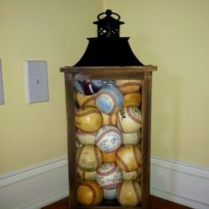 To display homerun balls and other baseballs that are special