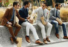 Looks masculinos para trabalhar em pleno verão! - http://www.damaurbana.com.br/homens-elegantes-em-pleno-verao/