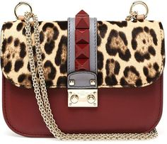 Valentino Garavani 'Glam Lock' shoulder bag   |  ≼❃≽ @kimludcom