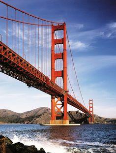 The Golden Gate Bridge in San Francisco #BucketList