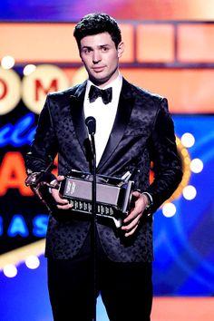 Carey Price wins 2015 Vezina Trophy & Ted Lindsay Award! at the 2015 NHL Awards.