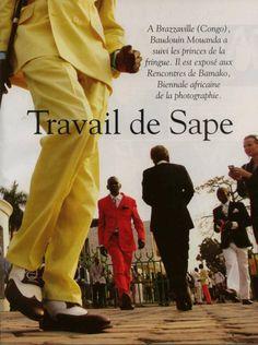 Travail de Sape par Baudouin Mouanda