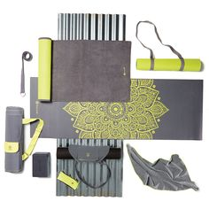 The Citron Storm Collection is trendy and electric–perfect for your Fall yoga classes.
