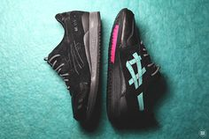 Solefly X Asics Gel Lyte Iii Night Haven With Images Asics