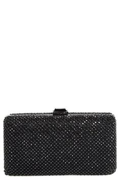 Sondra Roberts Crystal Mesh Box Clutch available at #Nordstrom--love this in the pewter color!